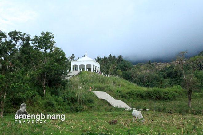 bangunan kubah bukit kasih minahasa sulawesi utara