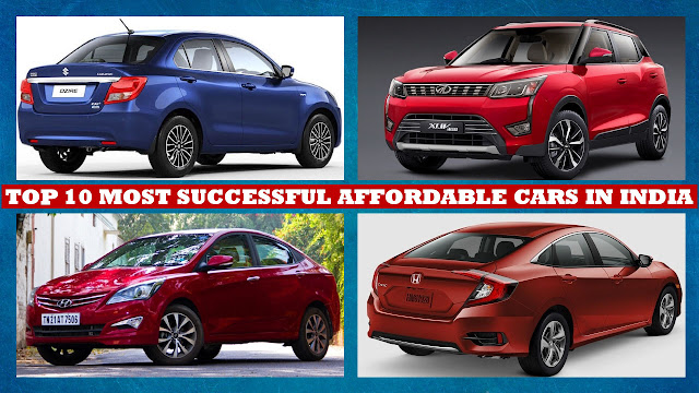 Top 10 Affordable Cars in India, Top 10 Most Successful Cost Effective Cars in India under 10 Lakh Rupees