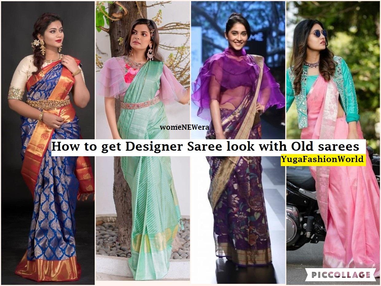 How To Get A Designer Saree Look With A Simple Saree