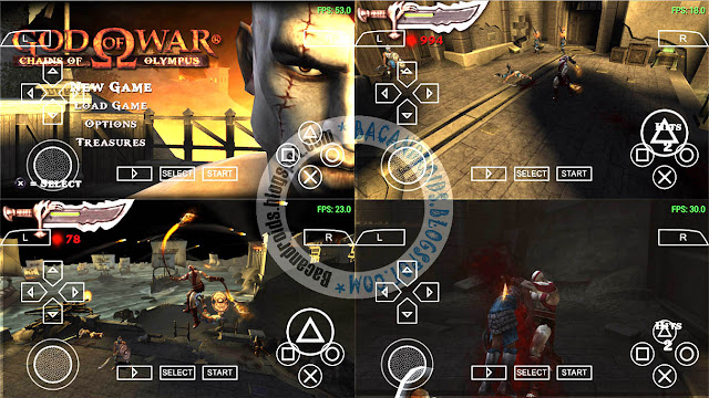 download Game God Of War Chains Of Olympus CSO PSP High Compress