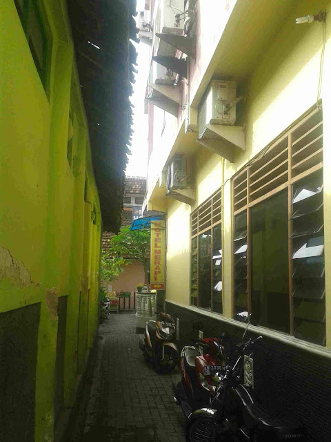 Hotel Merapi Jogja.