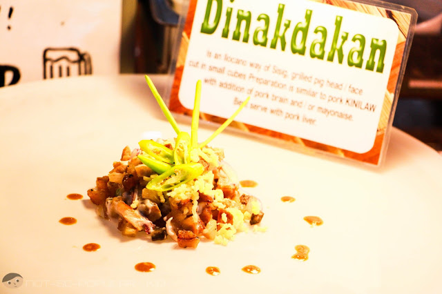 Amazing pork Dinakdakan of Chef Bab's Sizzling Sisig
