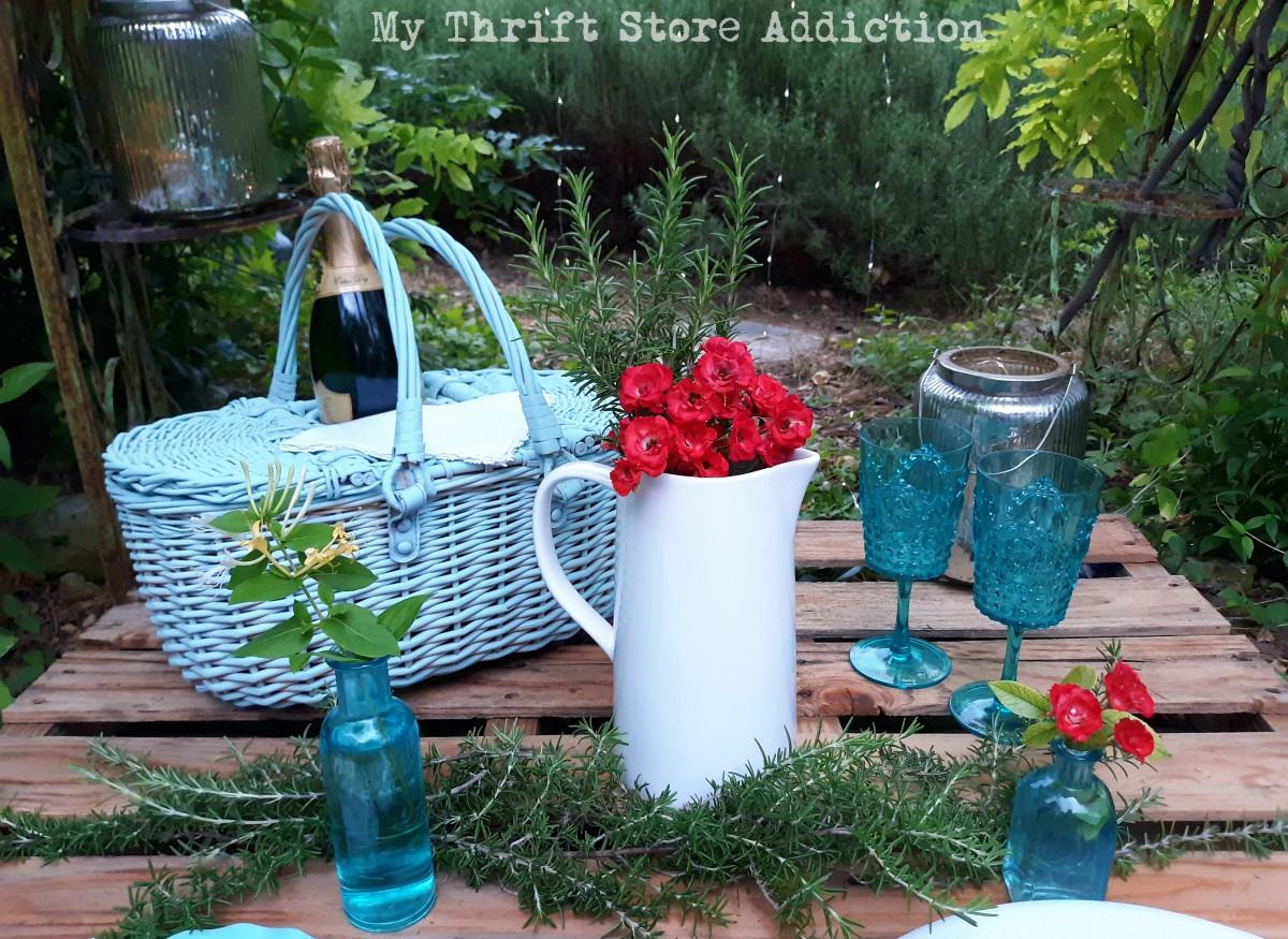 summer pallet picnic