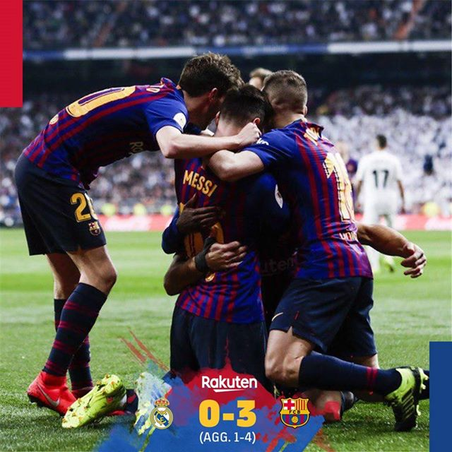 Football Highlights: Real Madrid 0 - 3 Barcelona [Copa Del Rey] 2018/2019