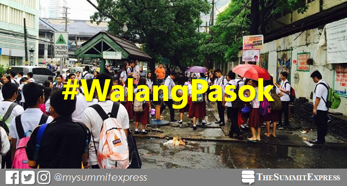 #WalangPasok: Class suspensions, Monday, September 16, 2019