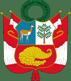 Escudo de Peru vicuña
