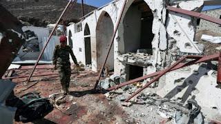 Teroris Syiah Houthi serang masjid di Ma'rib yama