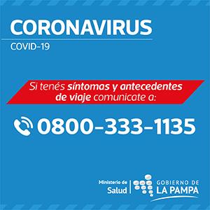 Contacto CORONAVIRUS