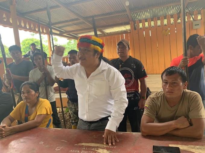 Tzawata expulsa a minera de su territorio ancestral