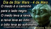 Frases de Star Wars - 4 de Maio - Dia do Star Wars
