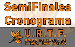 [URTF] Horarios: Primera División - Semifinales