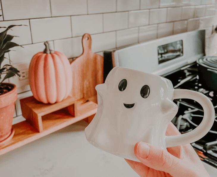 Target threshold ghost mug — Target ghost mug — Ghost mug Target — Threshold ghost mug — Halloween ghost mug — Ghost coffee mug — Target Halloween mug