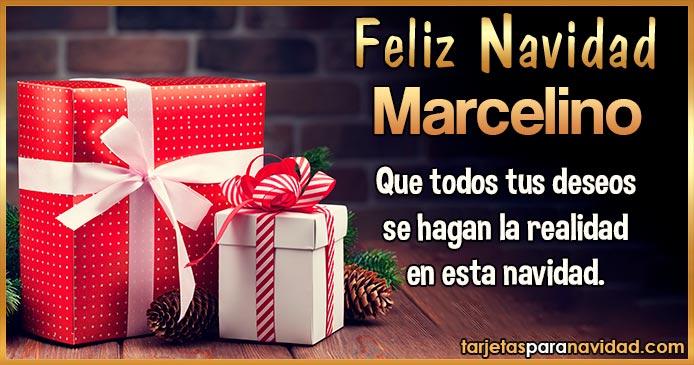 Feliz Navidad Marcelino