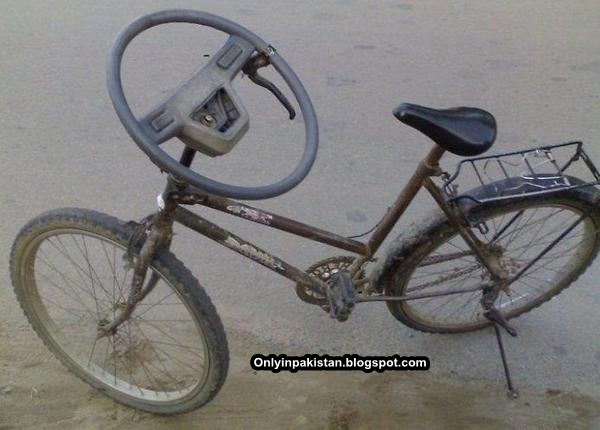 Funny Pakistani cycle design
