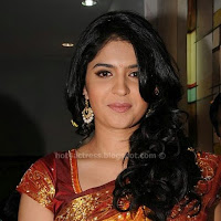Deeksha seth latest saree pics