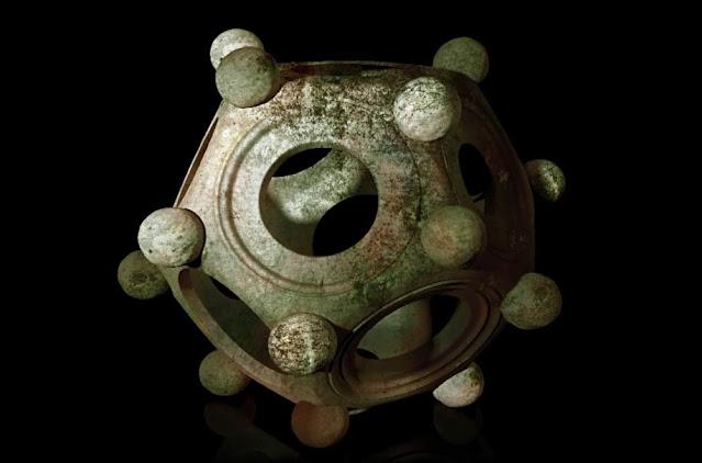 Un dodecaedro romano