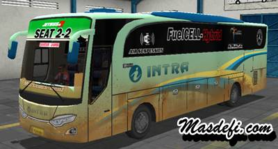 livery bussid hd intra kotor