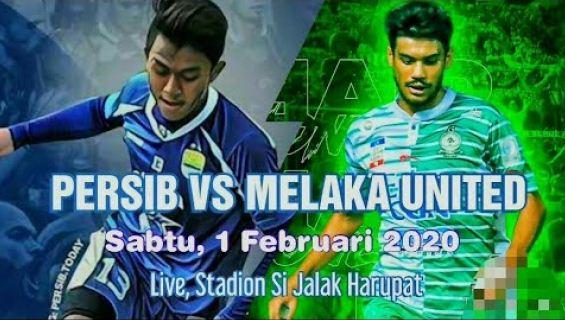 Susunan Pemain Persib Bandung vs Melaka United