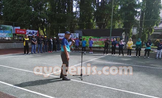 Kejurprov Tenis Jatim Resmi Dibuka