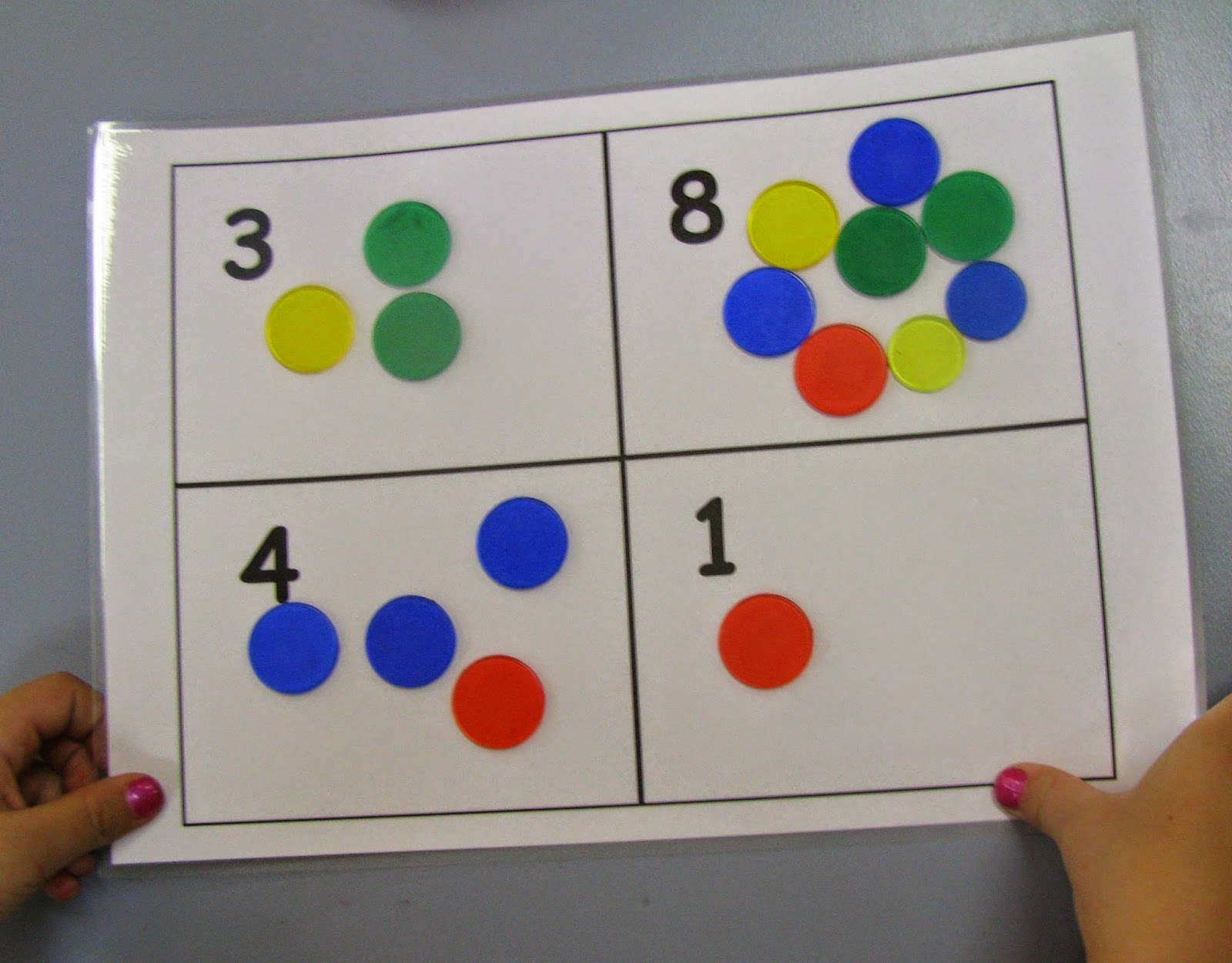 Developing One To One Correspondence Teaching Maths