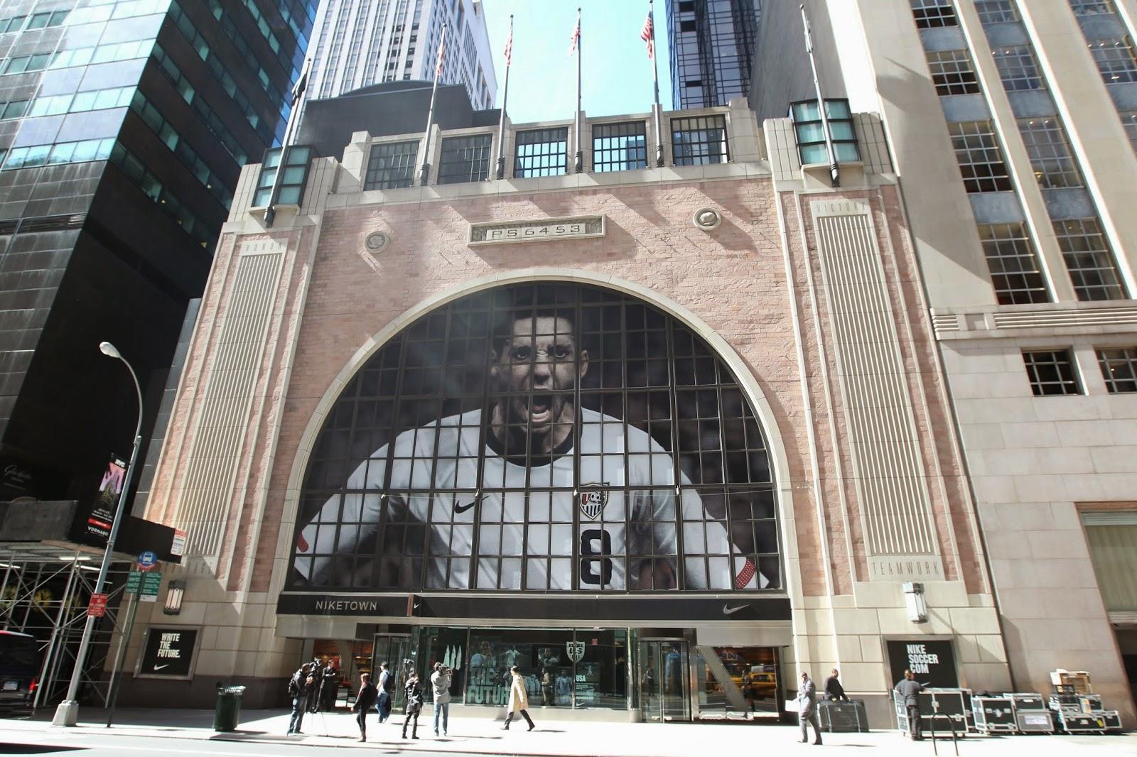 Niketown em Nova York