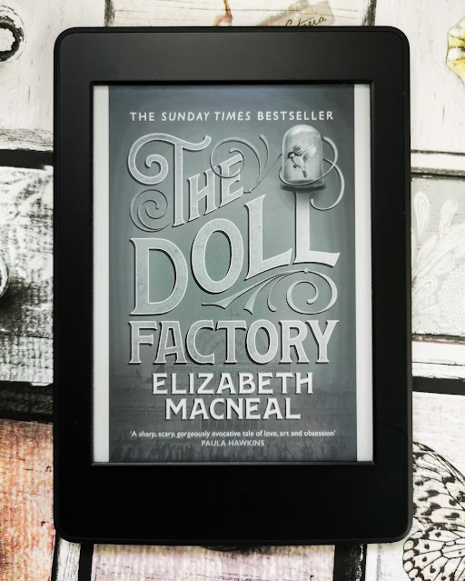 The Doll Factory By Elizabeth MacNeal Books We've Been Reading Blogger Link Up