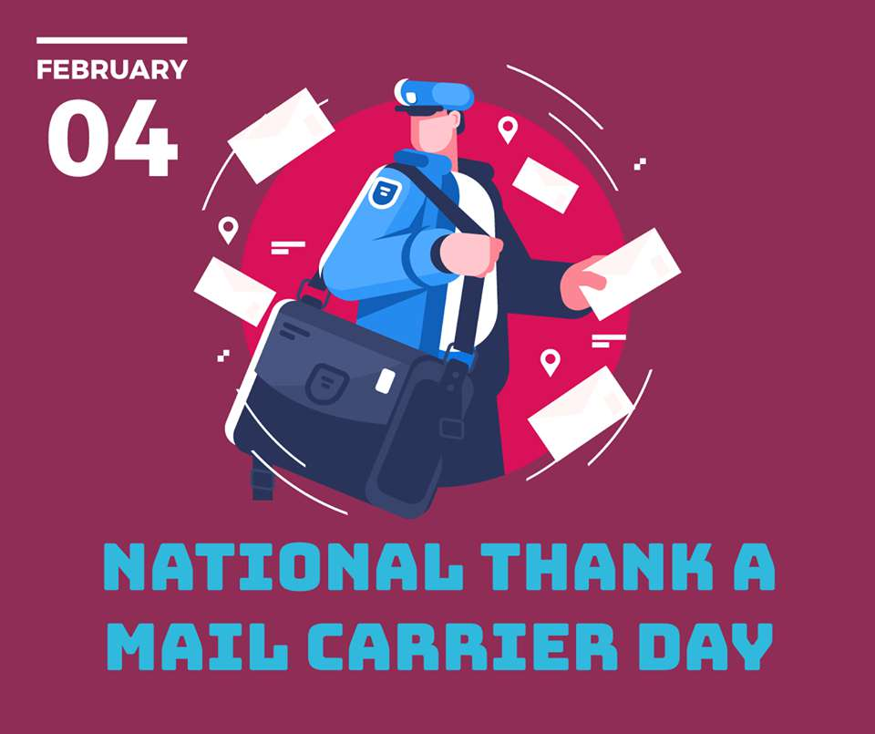National Thank a Mail Carrier Day Wishes Images download