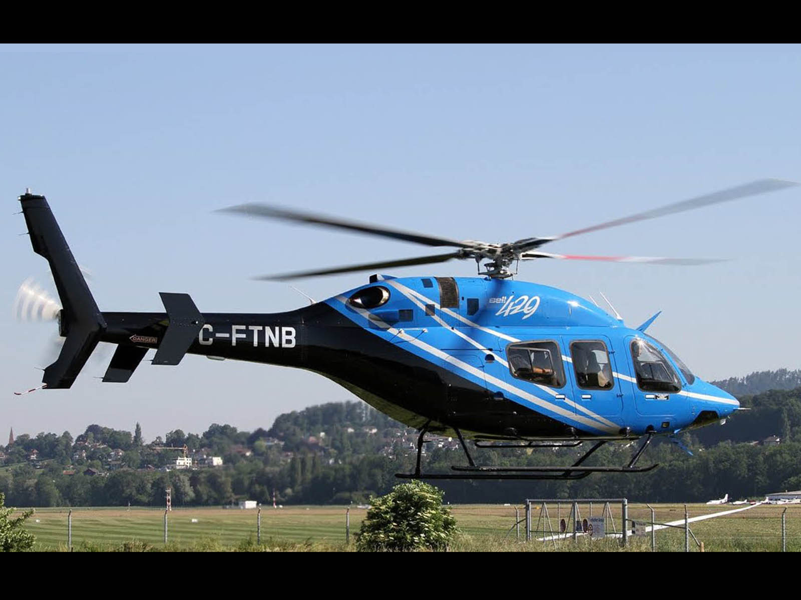 The Car Company >> wallpapers: Bell 429 GlobalRanger Helicopter