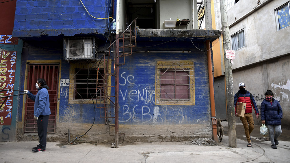 Ya son 470 las personas con coronavirus en barrios vulnerables de CABA