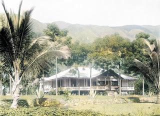 rumah seorang missionaris di ambarita