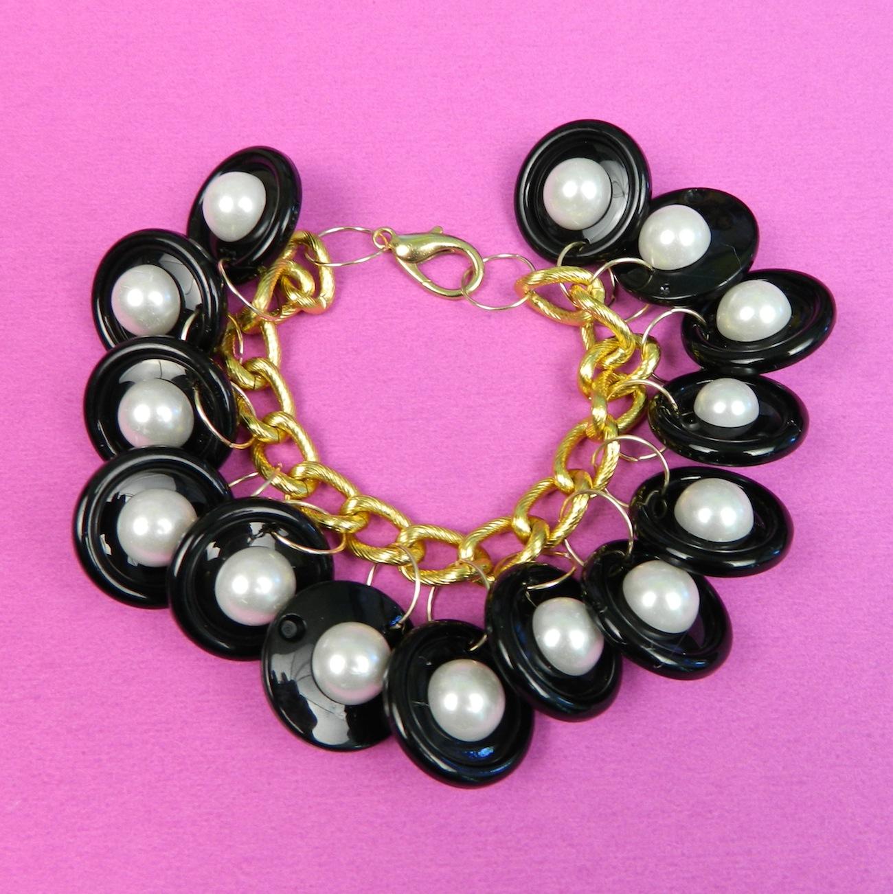 0632a0547f Chanel Inspired Charm Bracelet DIY