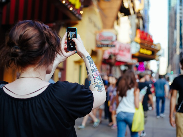 mem foto tempat-tempat dimana kita berada