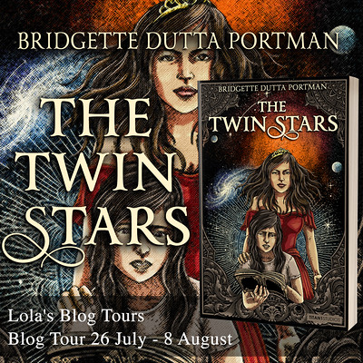 The Twin Stars square tour banner