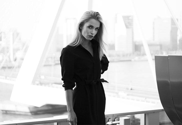 Fashion Attacks outfit ootd The Black Dress Mart Visser
