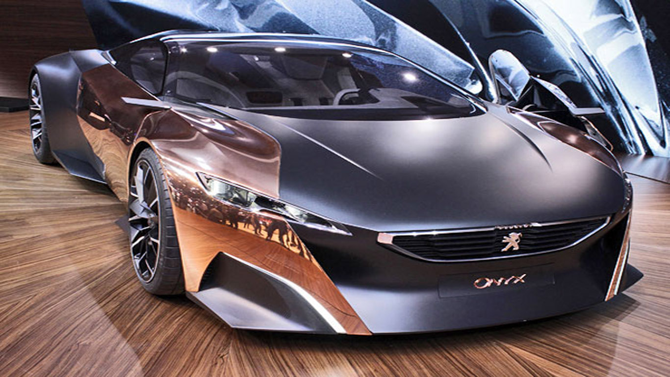 Paris Motor Show 2012 Peugeot Onyx Concept Dream
