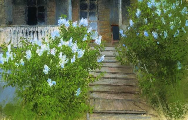 Исаак Ильич Левитан - Весна. Белая сирень. 1890-е