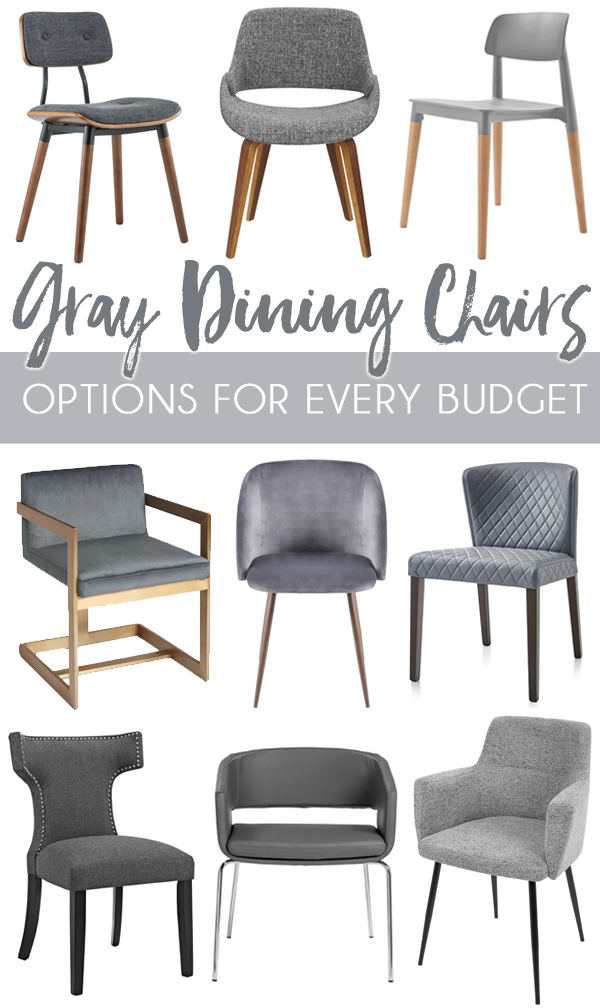 Affordable And Modern Gray Dining Chairs Blue I Style Creating