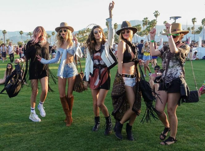 Alessandra Ambrosio – 2017 Coachella Music Festival Day 1 in Indio