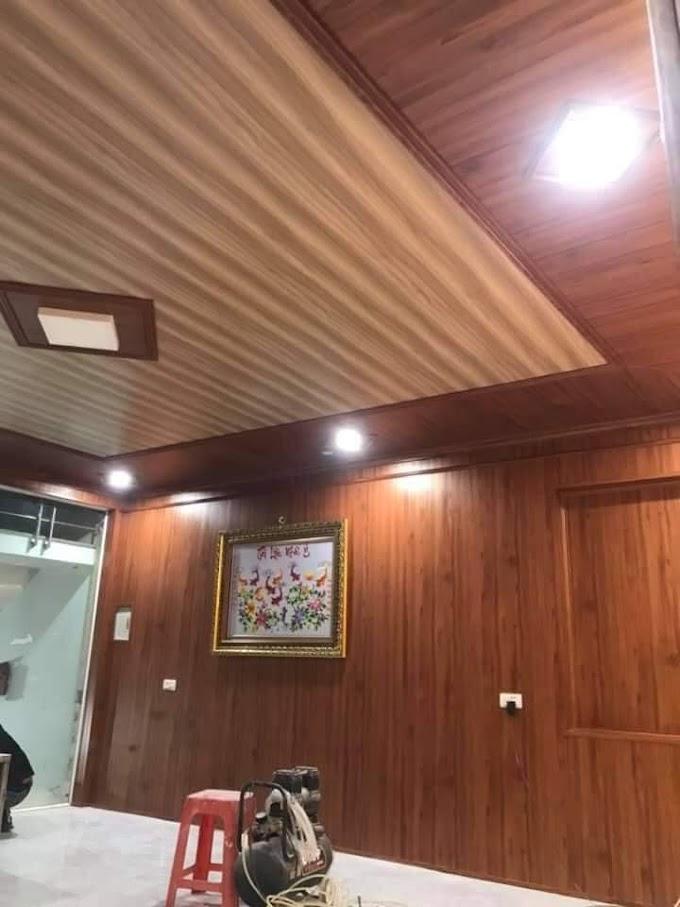 Tìm thợ ốp tường nhựa giả gỗ PVC Nano Tại Hải Phòng, Vách Ngăn nhựa giá rẻ chuyên nghiệp