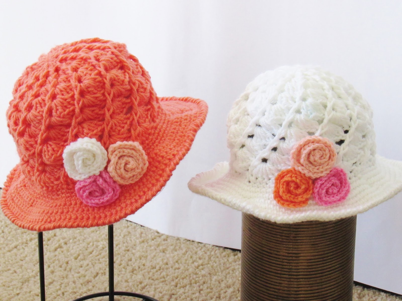 Crochet Dreamz: April Sun Hat, Crochet Pattern, Includes ...