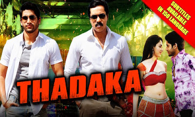 Thadaka 2016 Hindi Dubbed 720p WEBRip 950mb , South indian movie Thadaka hindi dubbed 720p dvdrip 700mb brrip bluray 1gb free download or watch online at world4ufree.be