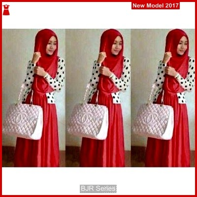 BJR054 H Baju Muslim Shireen Murah Grosir BMG