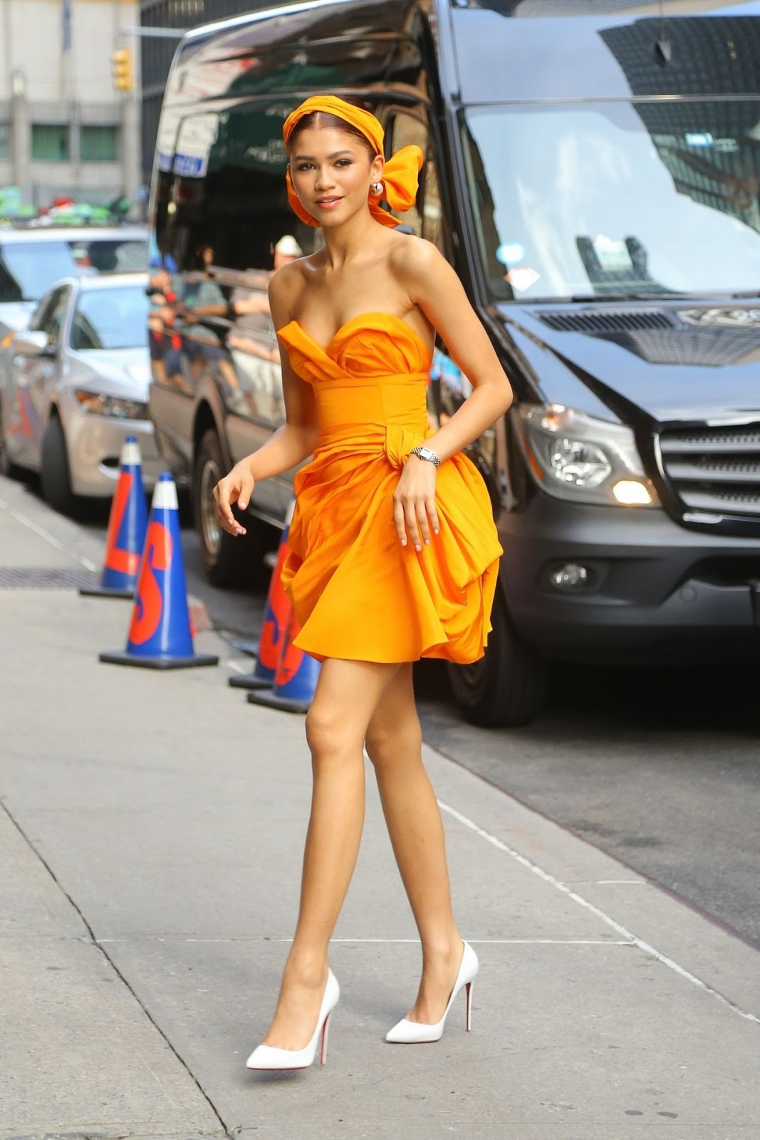 Zendaya Coleman – Arrives For Her Appearance at 'The Late Show With Stephen Colbert' in NYC