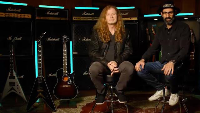 Dave Mustaine Ficha por Gibson.