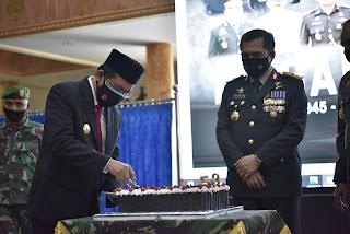 ARDY DAUD AJAK TNI TINGKATKAN SINERGITAS DALAM PENANGANAN COVID-19