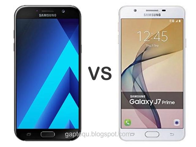 Perbandingan Samsung A7 Dan J7 Prime