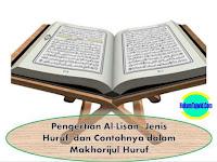 Pengertian Al-Lisan, Jenis Huruf, dan Contohnya dalam Makhorijul Huruf