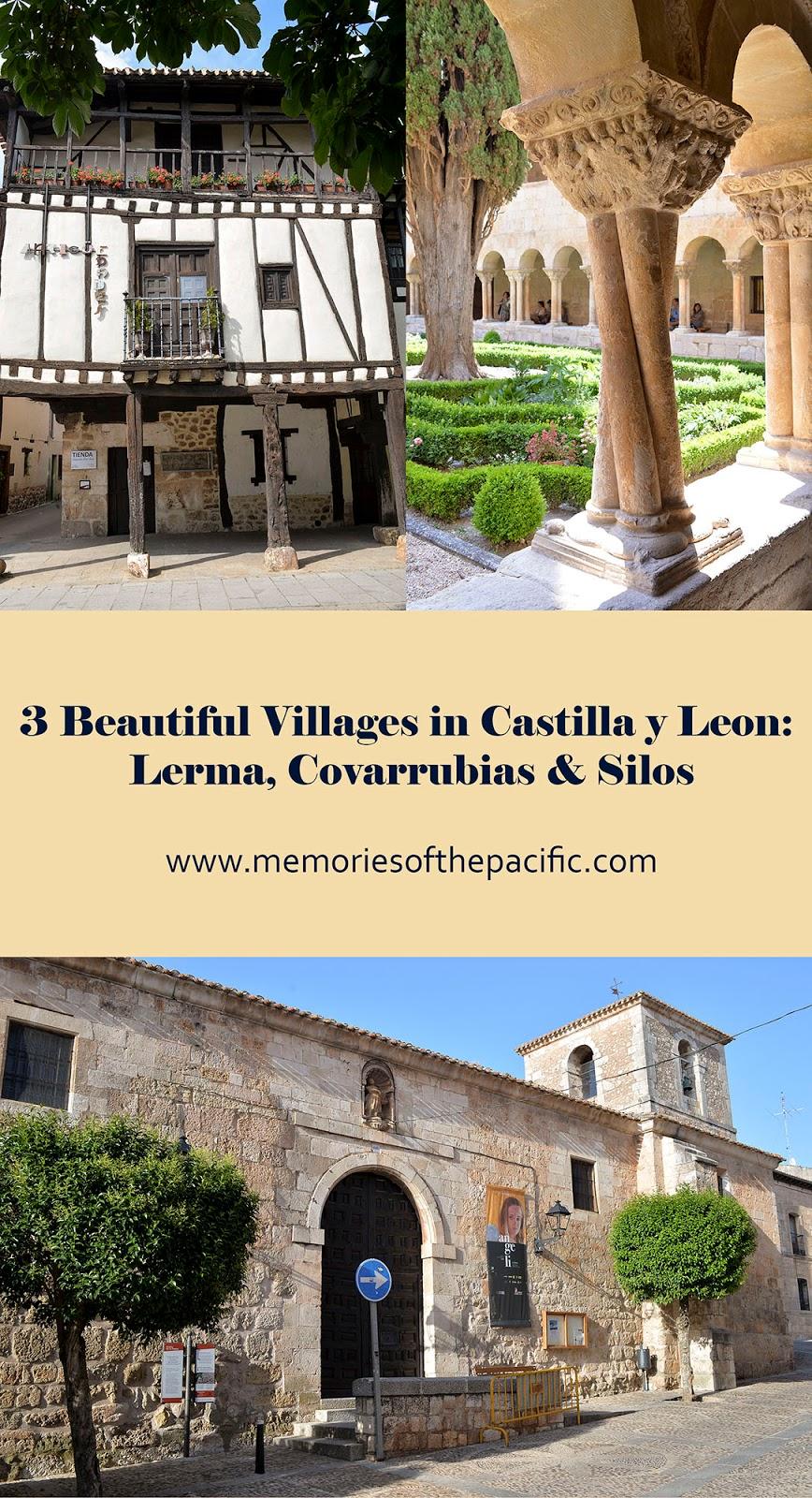 lerma covarrubias santo domingo silos castile leon burgos spain village