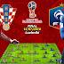 En direct :  France vs Croatie ( La grande finale Coupe du Monde Russie 2018 )
