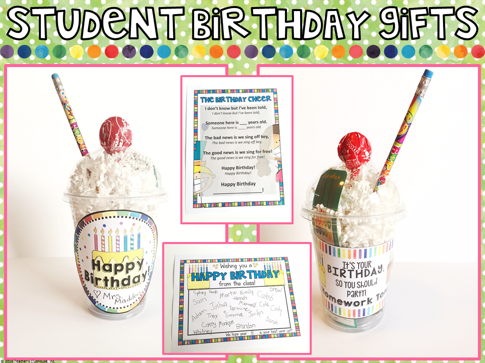 If You Would Like To Use These Ideas Can Grab Them All In This Birthday FREEBIE From My Shop Enjoy
